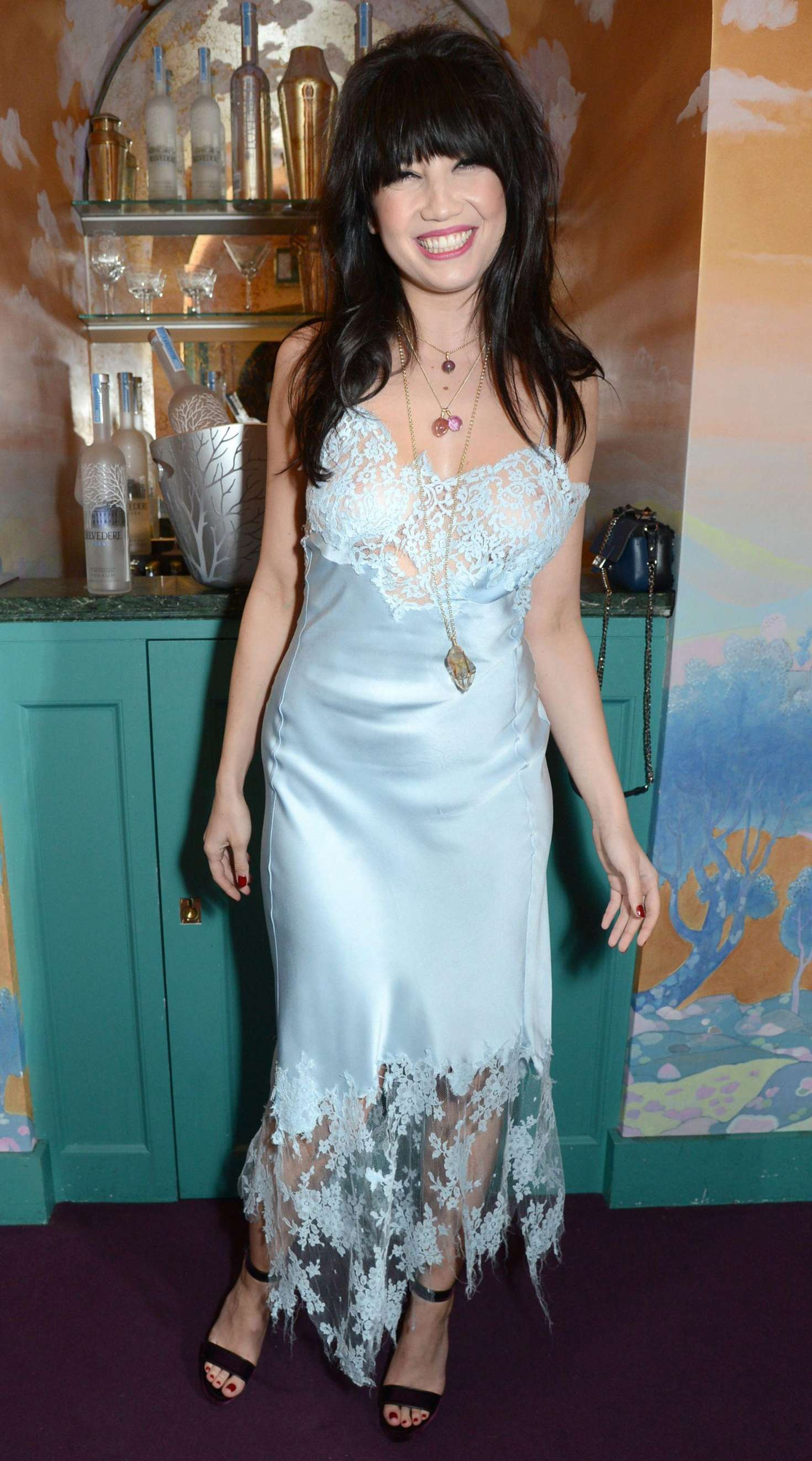 Daisy Lowe - Love Me 17 X Burberry Party in London