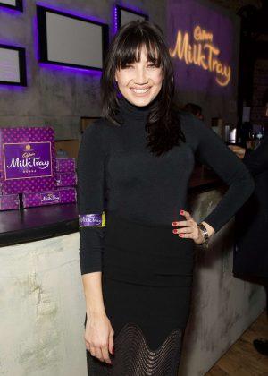 Daisy Lowe - New Cadbury Milk Tray Man advert launch in London