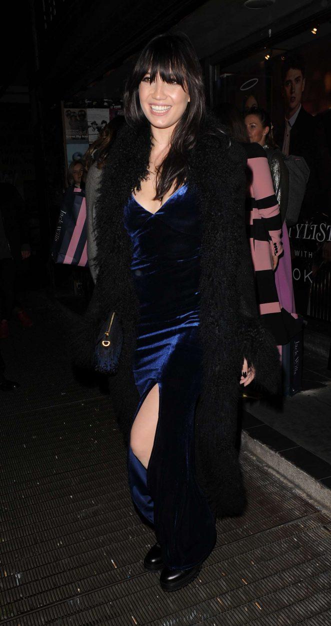 Daisy Lowe - Pixie Geldof's Album Launch Party in London