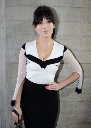 Daisy Lowe - Roland Mouret Show at 2017 LFW in London