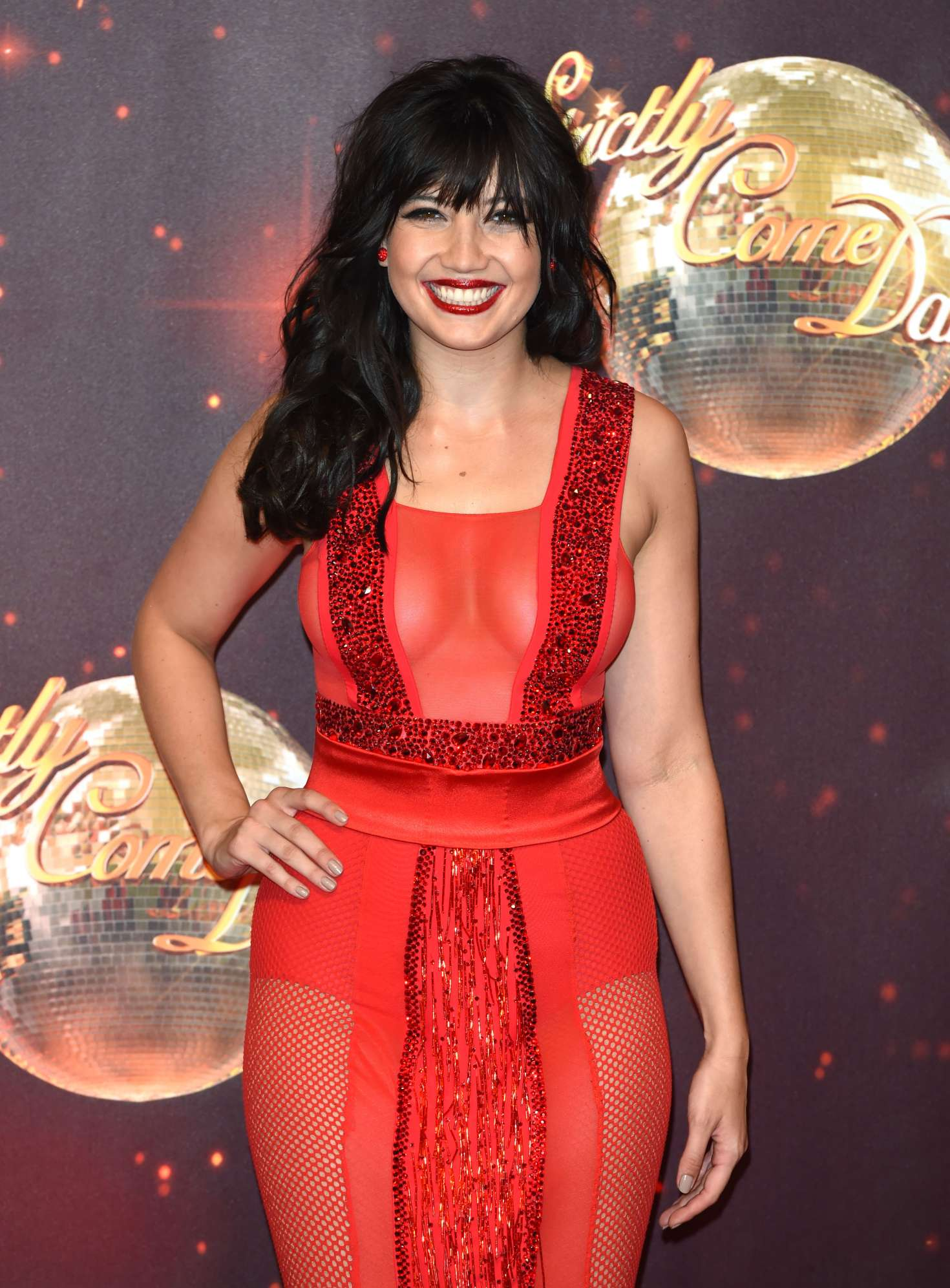 Daisy Lowe Strictly Come Dancing Launch In London