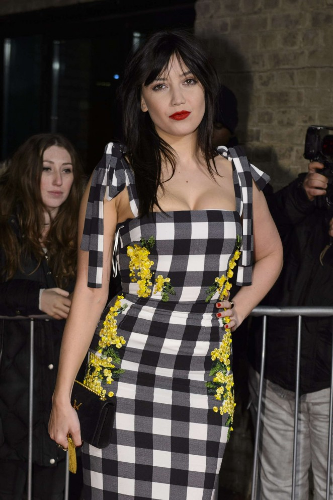 Daisy Lowe- The World's First Fabulous Fund Fair 2015 in London