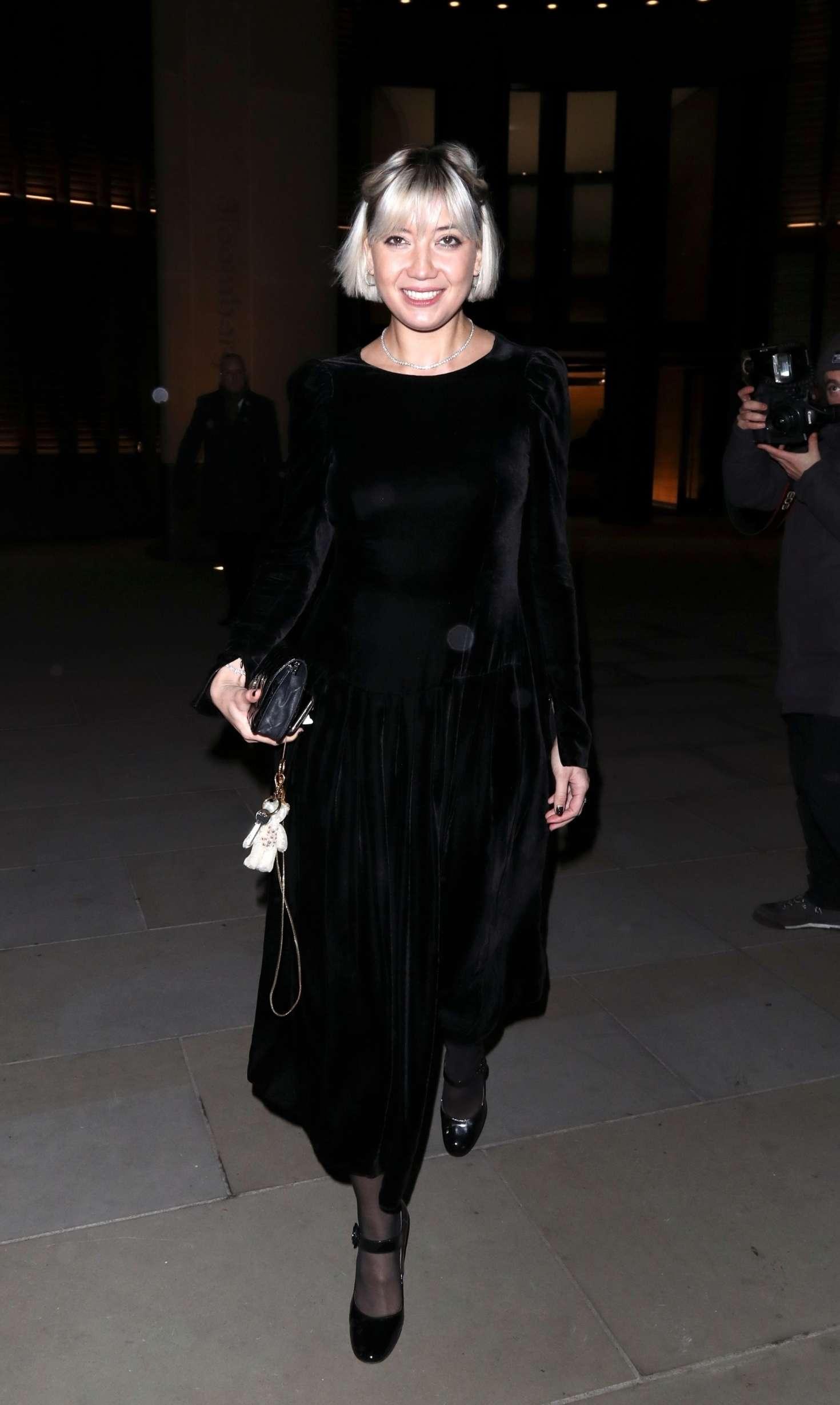 Daisy Lowe 2018 : Daisy Lowe: Vanity Fair x Bloomberg Climate Change Gala Dinner -01