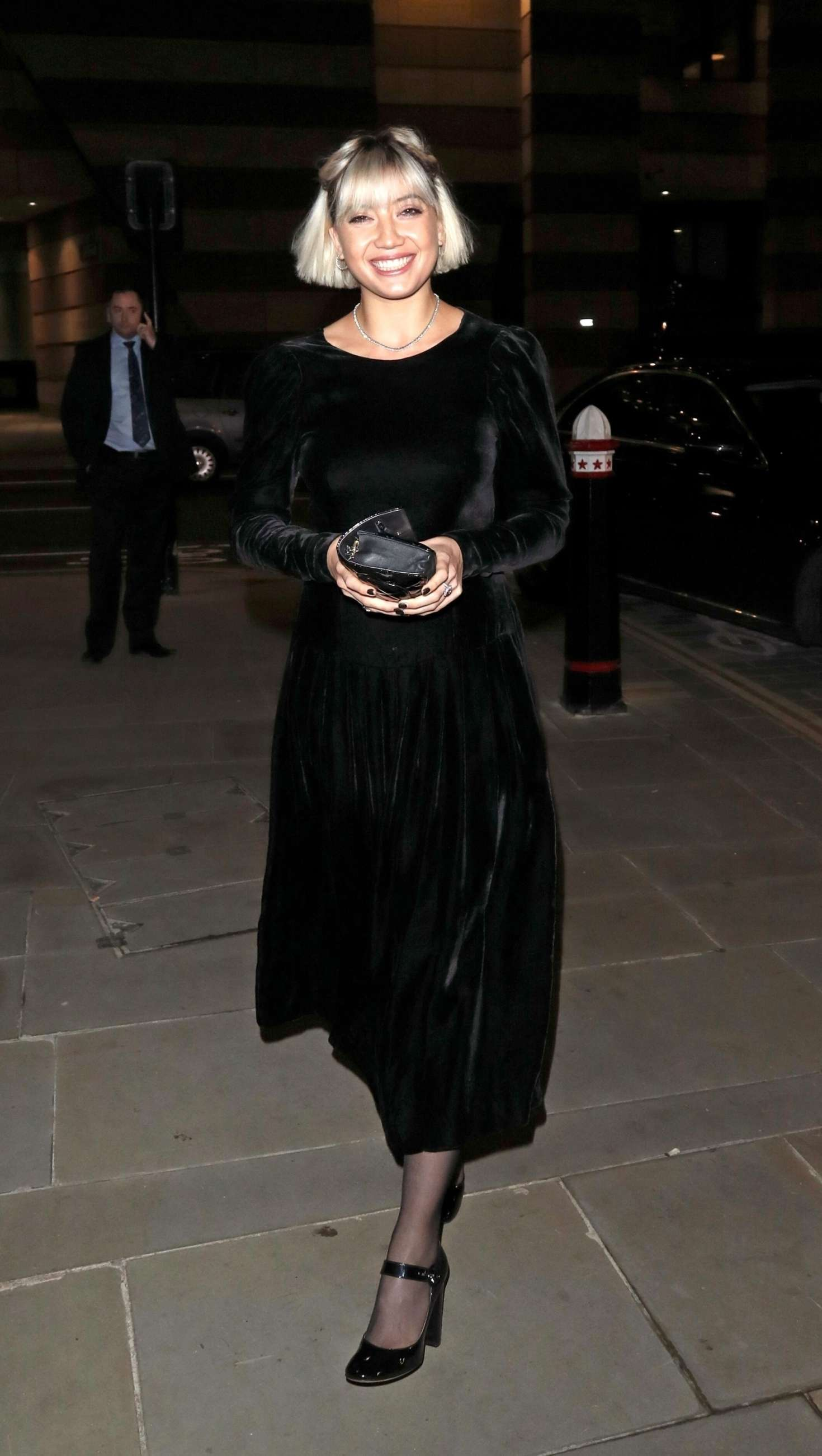 Daisy Lowe 2018 : Daisy Lowe: Vanity Fair x Bloomberg Climate Change Gala Dinner -02