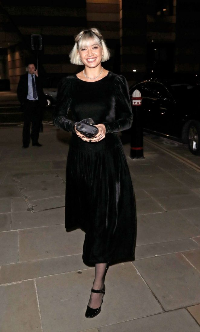 Daisy Lowe - Vanity Fair x Bloomberg Climate Change Gala Dinner in London
