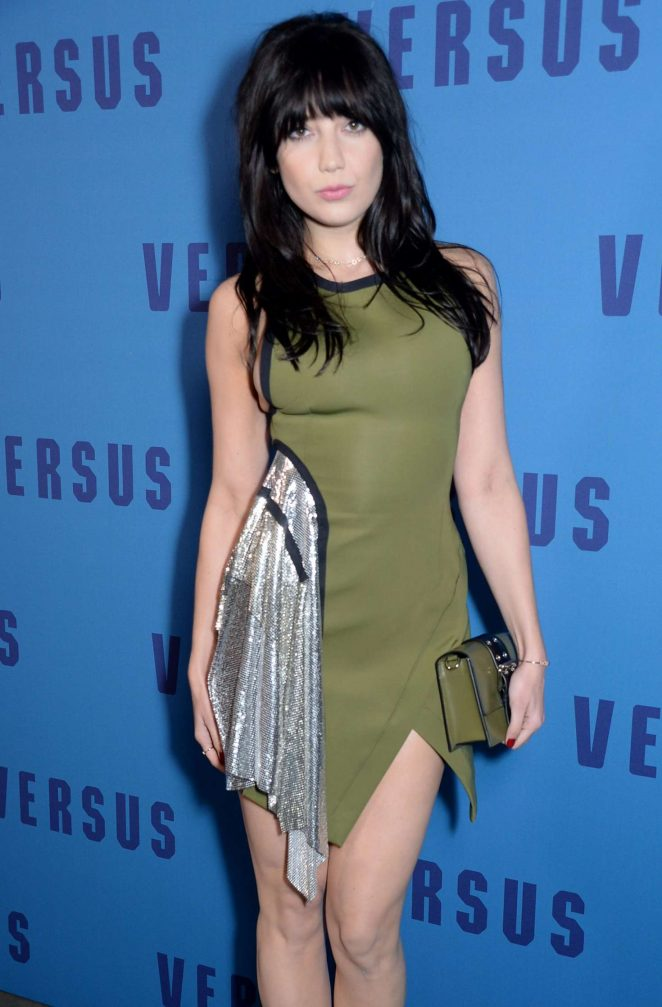 Daisy Lowe - Versus Versace Show at 2017 LFW in London