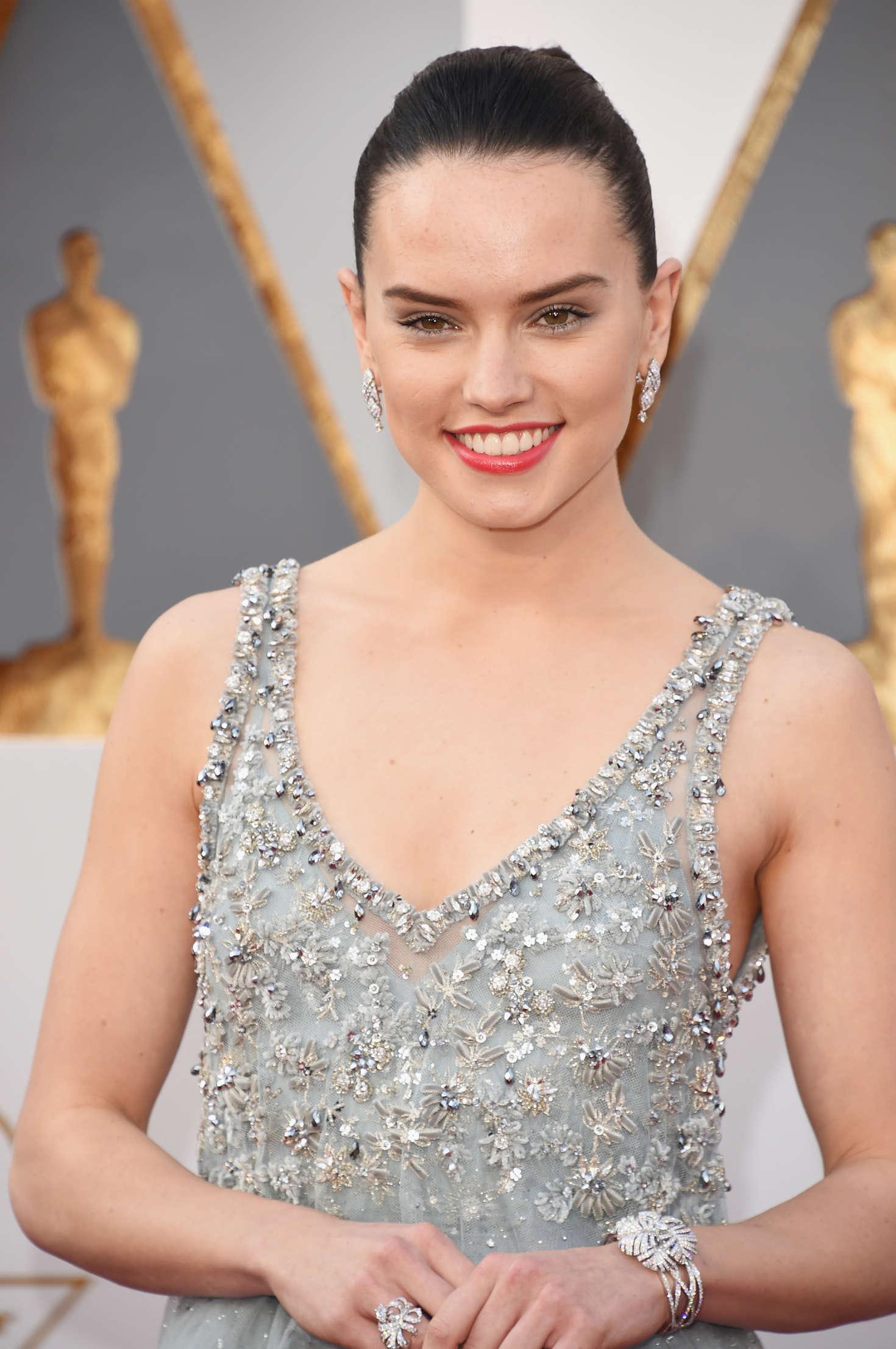 Daisy Ridley 2016 Oscars In Hollywood