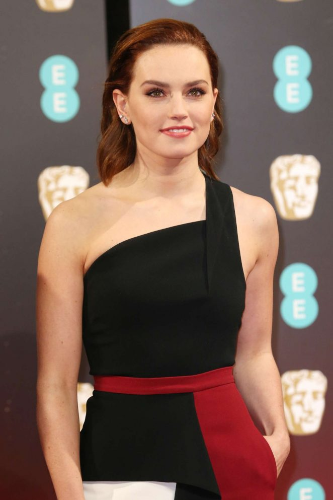 Daisy Ridley - 2017 British Academy Film Awards in London