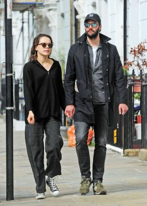 Daisy Ridley and Tom Bateman - Out in Primrose Hill