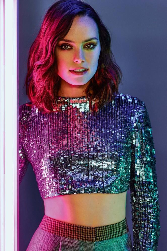 Daisy Ridley - ASOS Magazine (December 2015)
