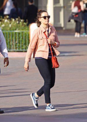 Daisy Ridley at Disney California Adventure Park in Anaheim