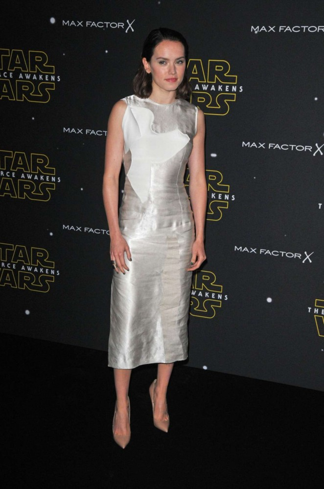 Daisy Ridley: Fashion Finds The Force Event -02