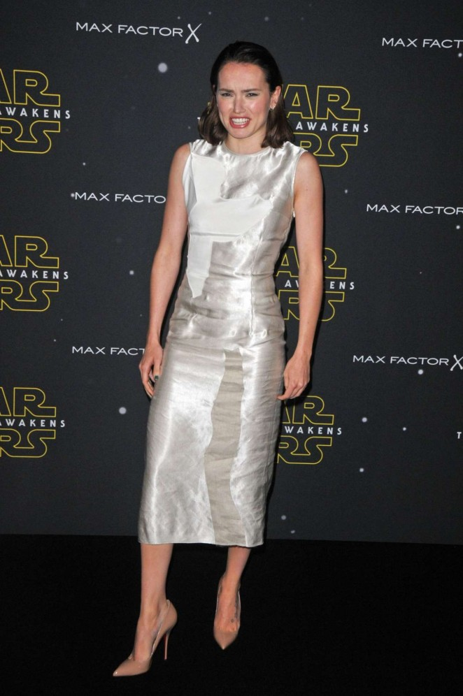 Daisy Ridley - Fashion Finds The Force Event in London