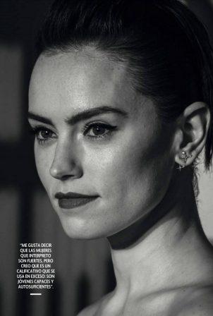 Daisy Ridley - Fotogramas Magazine (April 2021)