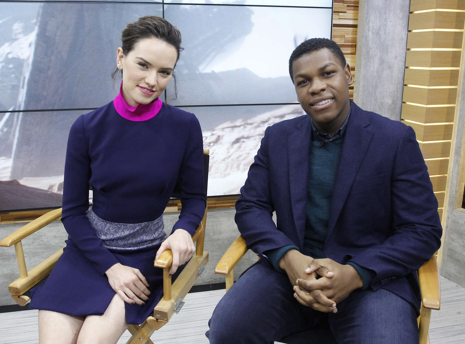 Daisy Ridley - Good Morning America in NYC