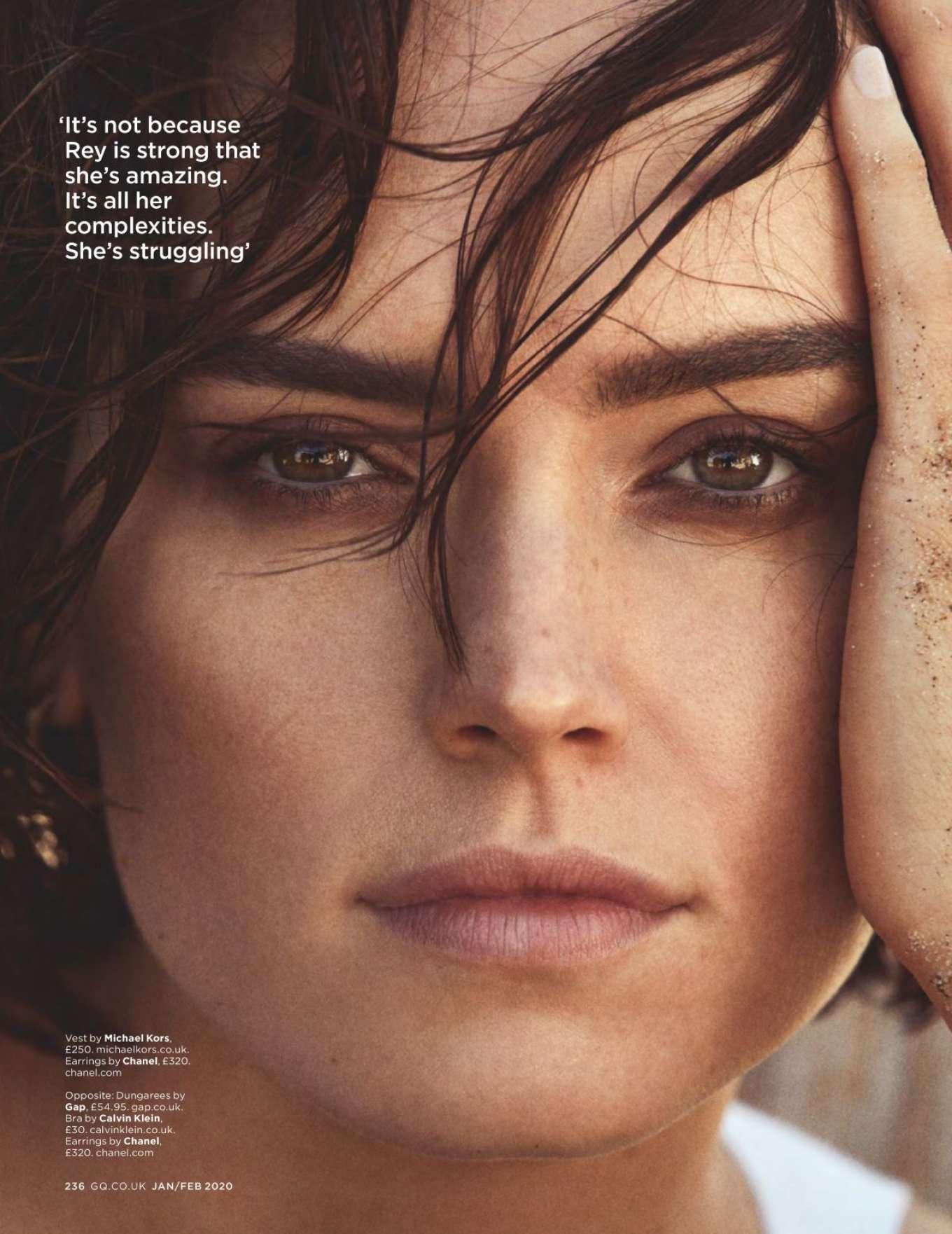 Daisy Ridley Gq Uk Magazine 2020 20 Gotceleb