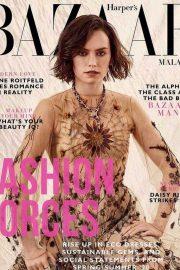 Daisy Ridley - Harper's Bazaar Malaysia Cover (March 2020)