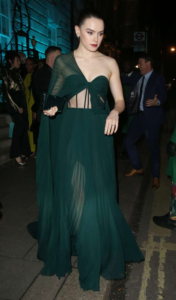 Daisy Ridley - Leaving Annabels After The British Vogue and Tiffany Co Party in London