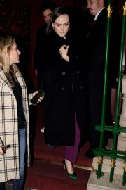 Daisy Ridley - Leaving Park Chinois Restaurant in London
