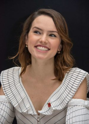 Daisy Ridley - 'Murder on the Orient Express' Press Conference in London