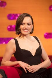 Daisy Ridley - On The Graham Norton Show in London