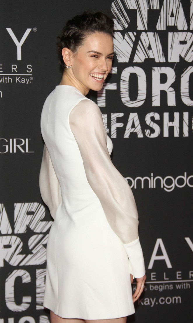 Daisy Ridley - Star Wars 'Force 4 Fashion' Event in New York