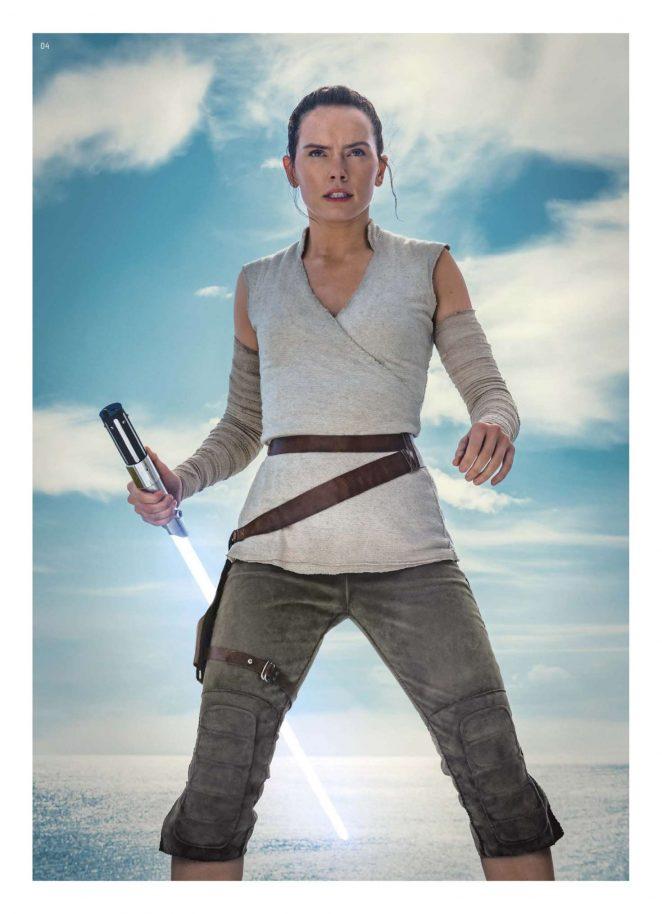 Daisy Ridley - Star Wars Insider (April 2018)