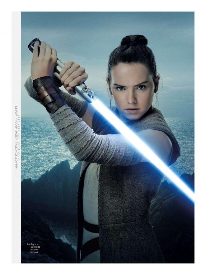 Daisy Ridley - Star Wars Insider Magazine (January/February 2018)