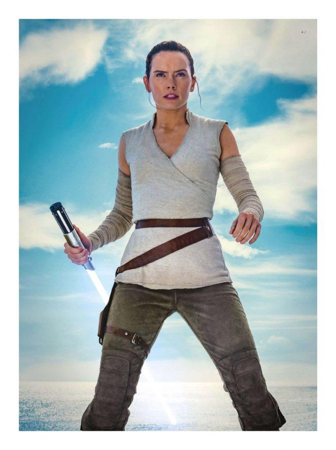 Daisy Ridley - Star Wars Insider: The Last Jedi (June 2018)