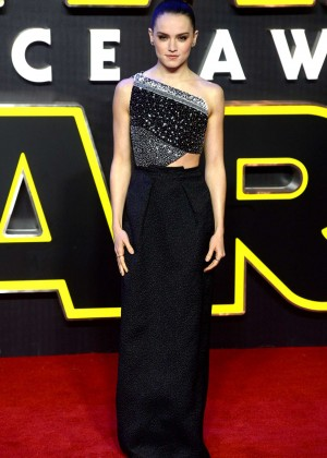 Daisy Ridley: Star Wars The Force Awakens UK Premiere -08