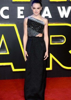 Daisy Ridley: Star Wars The Force Awakens UK Premiere -13