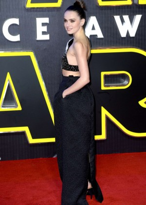 Daisy Ridley: Star Wars The Force Awakens UK Premiere -15