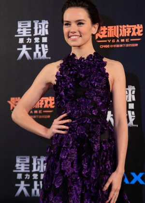Daisy Ridley - 'Star Wars: The Force Awakens' Premiere in Shanghai