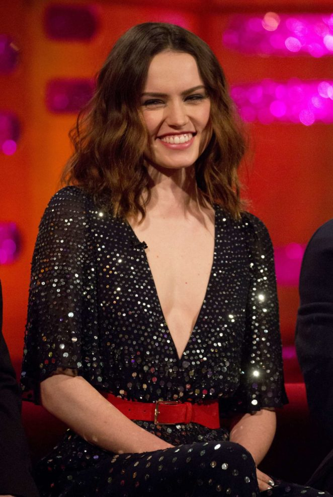 Daisy Ridley - The Graham Norton Show in London