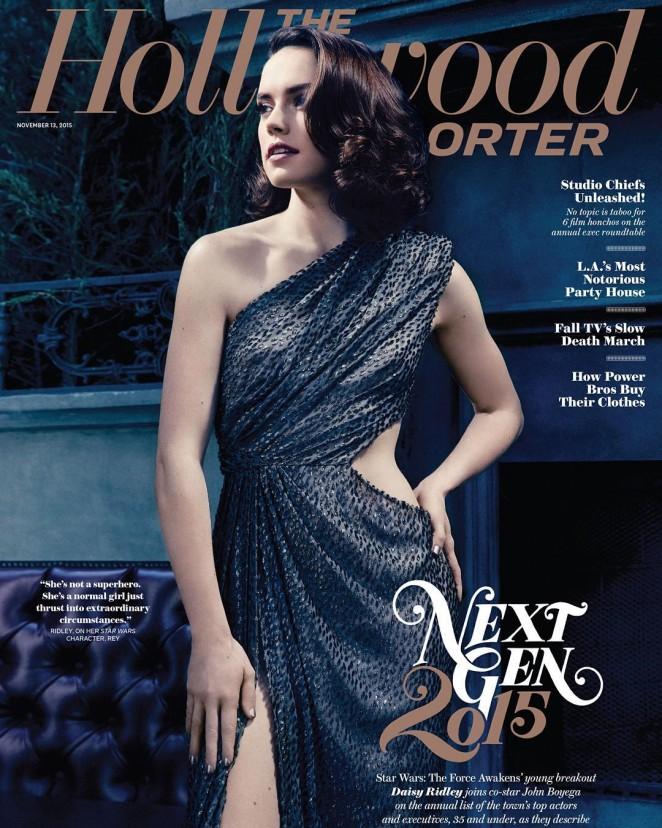 Daisy Ridley - The Hollywood Reporter (November 2015)