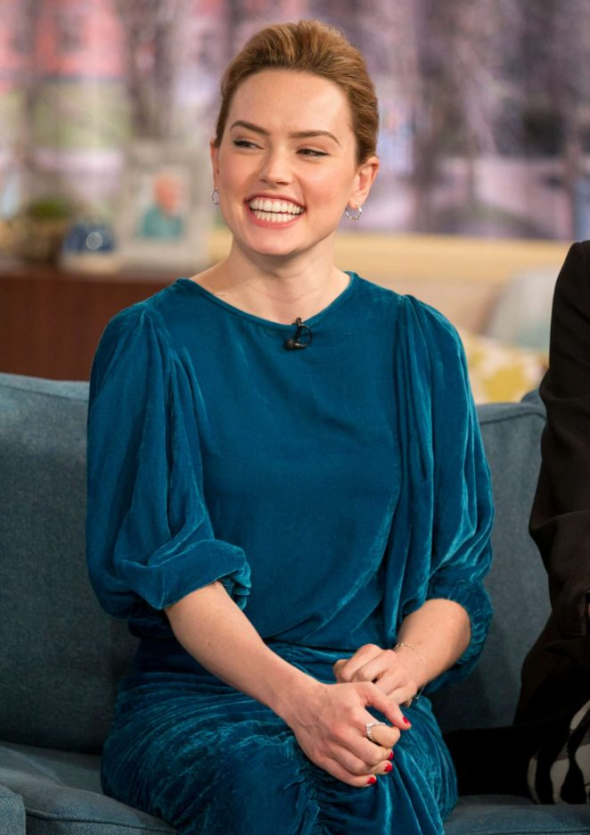 Daisy Ridley - 'This Morning' TV Show in London