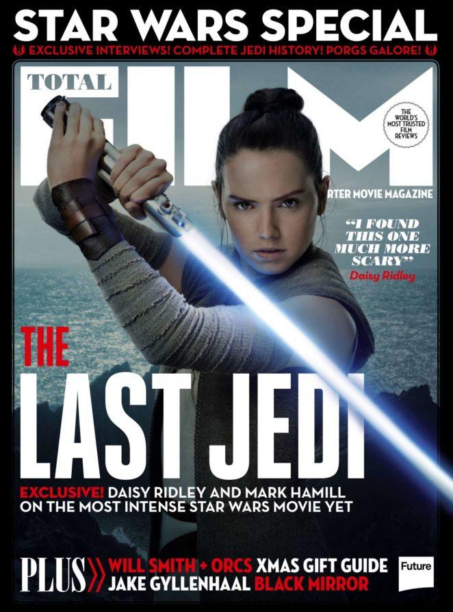 Daisy Ridley - Total Film Magazine (January 2018)