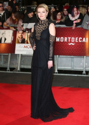"Dakota Blue Richards - ""Mortdecai"" Premiere in London"