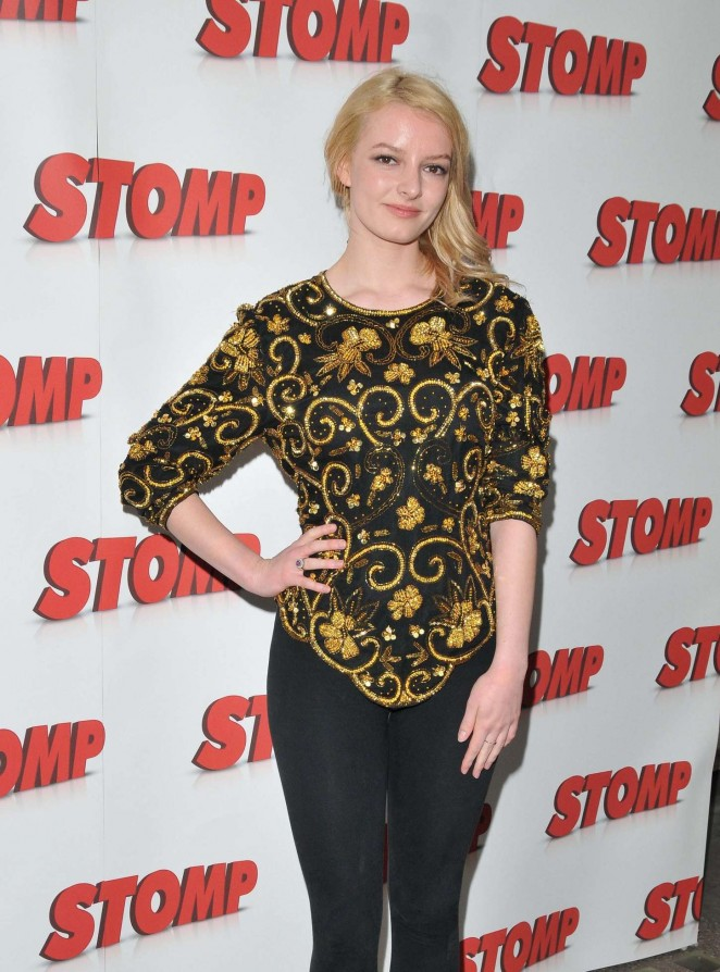 Dakota Blue Richards – 'Stomp' 13th Birthday Gala Night at Ambassadors Theatre in London
