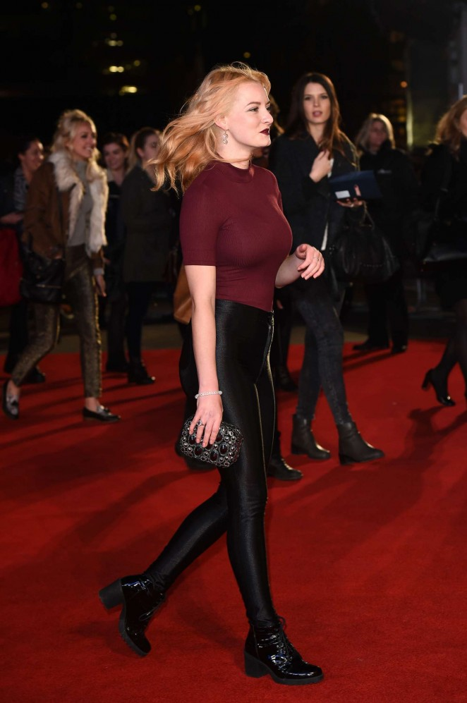 Dakota Blue Richards: The Danish Girl premiere in London-09