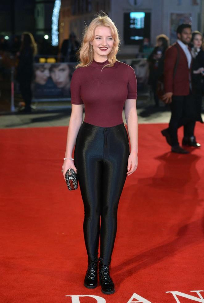 Dakota Blue Richards: The Danish Girl premiere in London-12