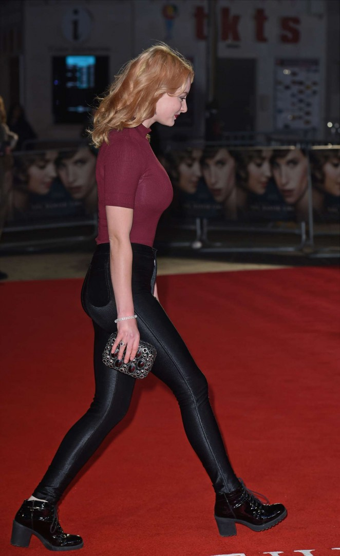 Dakota Blue Richards: The Danish Girl premiere in London-18