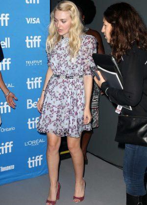 Dakota Fanning - 'American Pastoral' Press Conference at 2016 Toronto International Film Festival