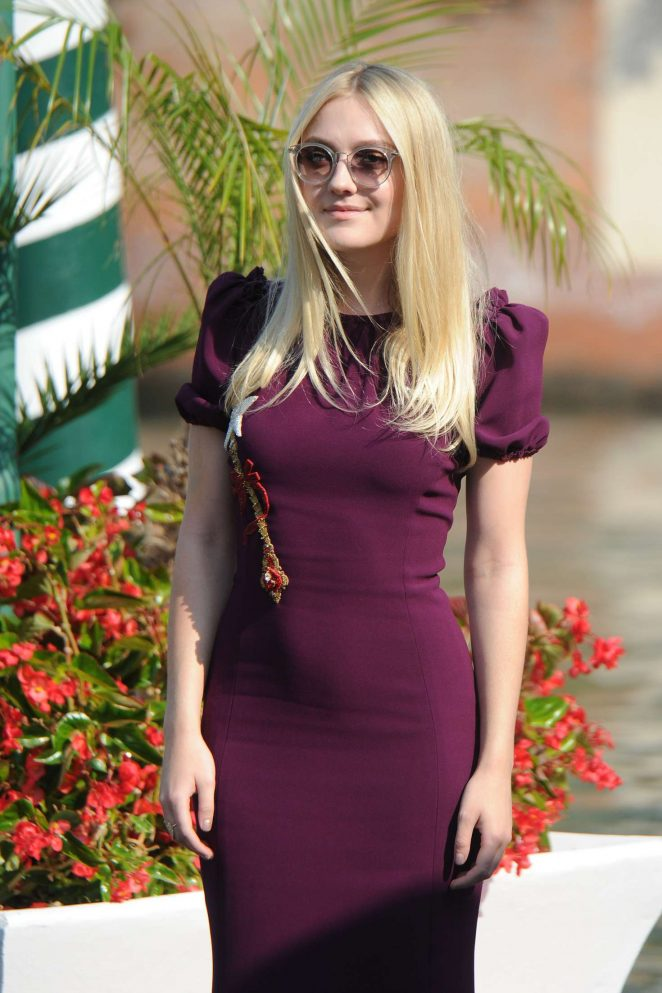 Dakota Fanning at 73rd Venice Film Festival in Venice