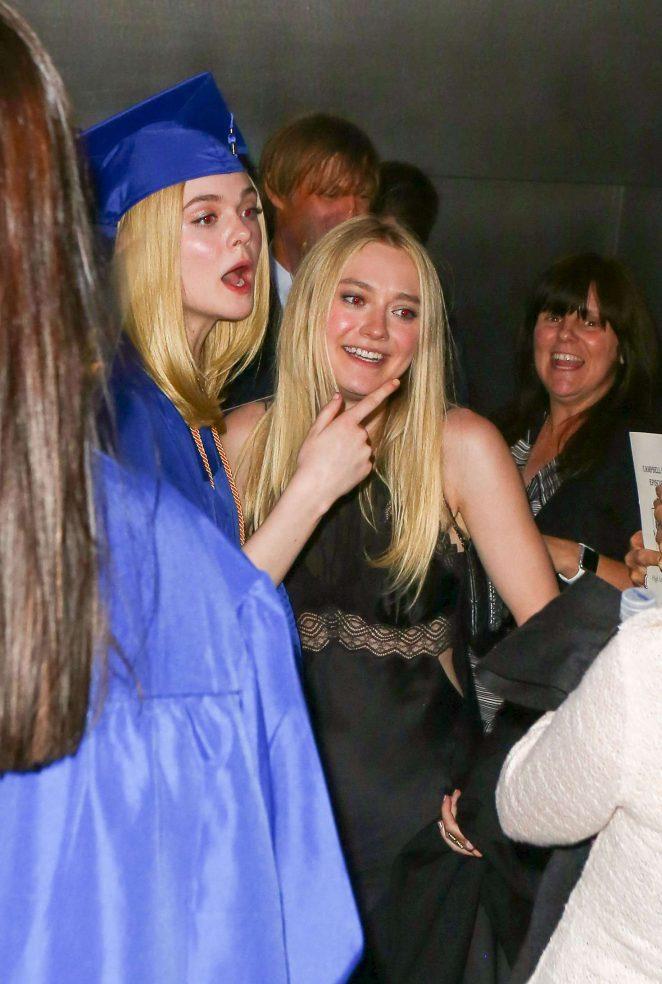 Dakota Fanning at Elle's Graduation in LA