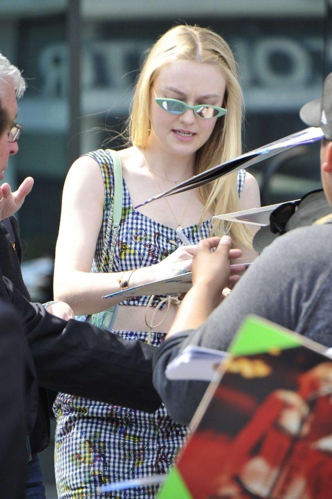 Dakota Fanning at the Directors Guild of America in Los Angeles