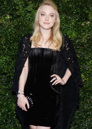 Dakota Fanning - Charles Finch and Chanel Pre-Oscar Dinner 2016 in LA