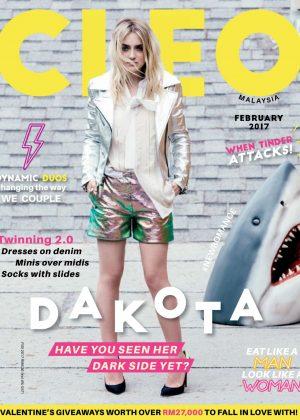 Dakota Fanning - Cleo Malaysia Magazine (February 2017)