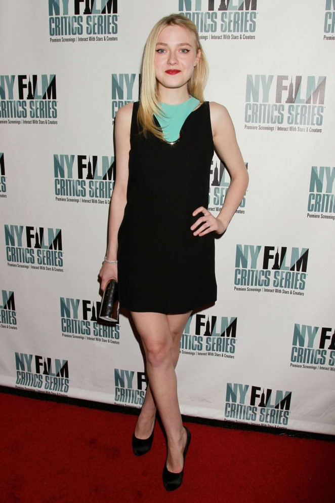 Dakota Fanning - 'Every Secret Thing' New York Film Critic Series Premiere in NYC
