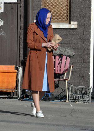Dakota Fanning - Filming 'Sweetness in the Belly' in Dublin